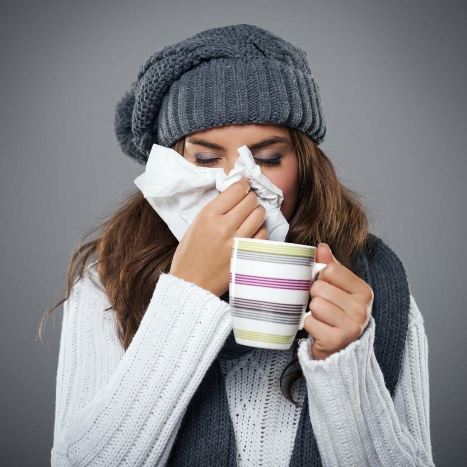 Картинки для болеющих гриппом