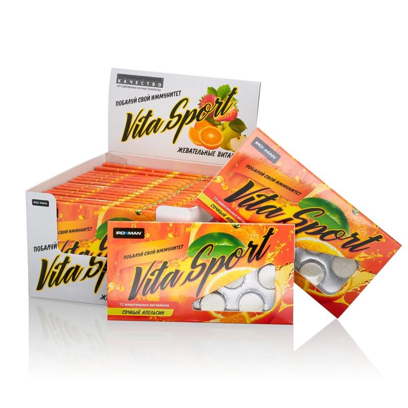Жевательные таблетки Vita Sport с эхинацеей