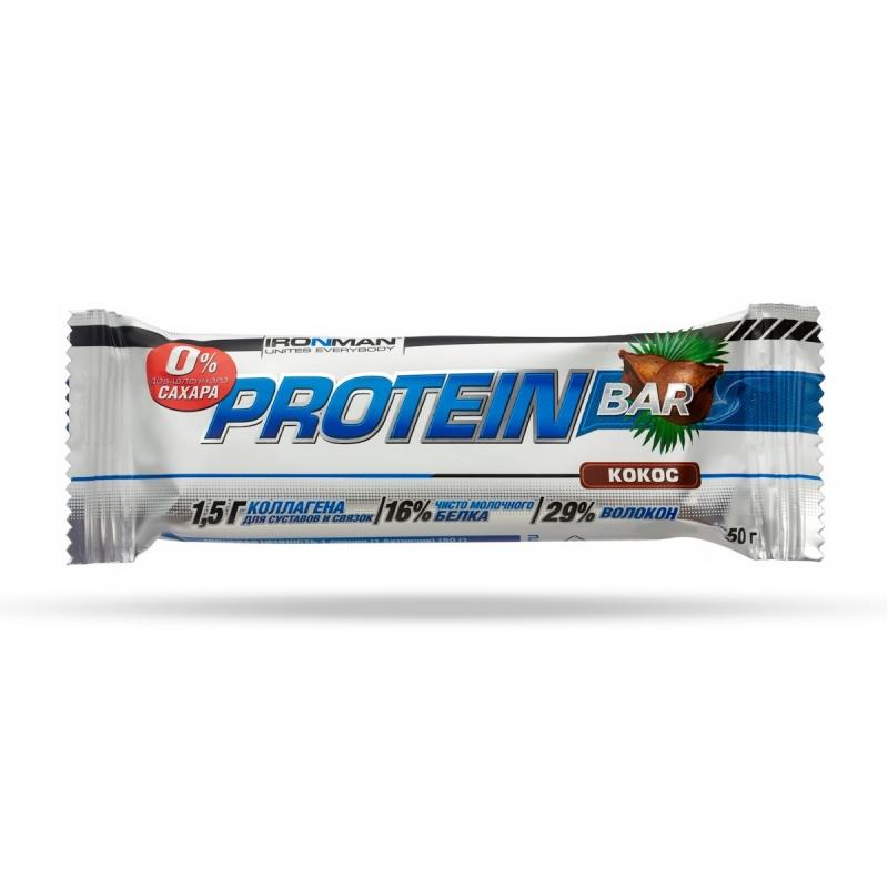 Protein Bar без сахара, 2 вкуса